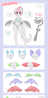 KANDRAS Species Guide (1/3) by Remi-Adopt