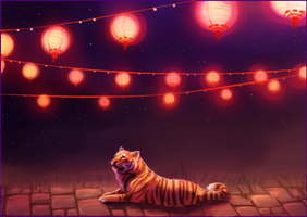 Lanterns by RayCrystal