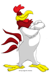 Foghorn Leghorn by Duchess-of-Dismal
