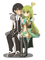 Elsword: BM and NW by PinkLovii