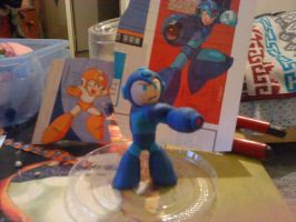 Megaman by ClayBender
