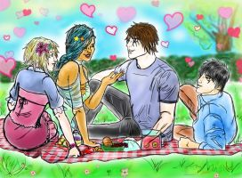 S6 Secret Gift Exchange Group Picnic by vampkimi
