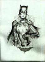 Batgirl by Carl-Mark