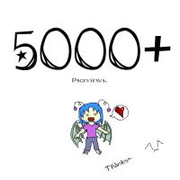 5000 Pageviews by Ms-Silver