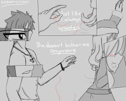 She doesn't bother me anymore.. by xxSamChan