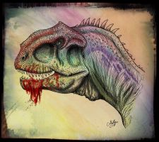Majungasaurus  portrait by MALvit