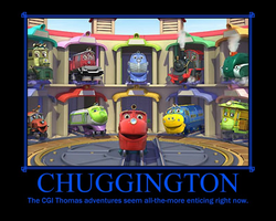 Chuggington Demotivational by Sephirath21000