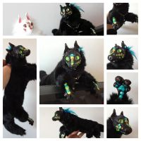 ooak baby pirate dragon by coyotare