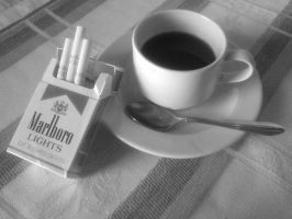 Coffee and Cigarrettes by tearofthedark
