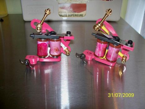 My Tattoo Machines by TattooSavage