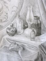 Still Life with glass by articraft