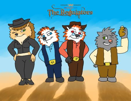 The Regulators - Group Pic by JWthaMajestic