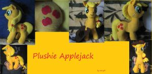 Plushie Applejack (2) by HoryPL