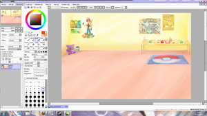Pkemon collab by HylianGuardians