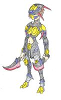 PokeMonster Hunter - Seviper Armor by Aonon
