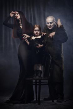 The Addams Family by Aisii