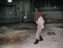 Pyramid Head on Location by realdaguru
