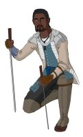 Young Achilles Davenport by redstrikerborg