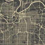Kansas City by MapMapMaps