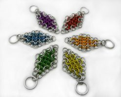 4in1 Rainbow Keychains by Gibbtall