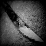 The knife of her emotions by Mheely