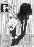 Lenore and Ragamuffin by littleghostgirl