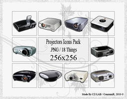 Projectors Icons Pack by conzumir