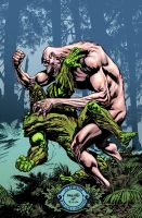 Swamp Thing cover #10 by YanickPaquette
