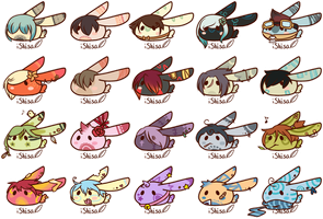 Bun Blob Batch 5 - iKuu Collab | +CLOSED+ by iShisa
