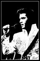 The King of Rock and Roll by Hal-2012