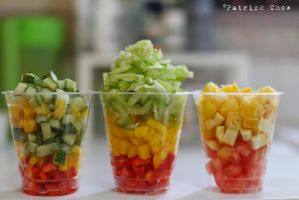 Fruit cups by patchow