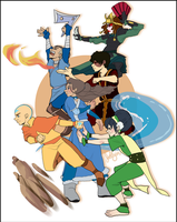 Team Avatar by jellyso