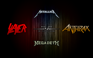 The Big 4 Of Thrash Metal by MARSHOOD