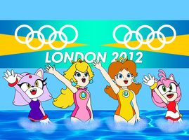 2012 Olympic Girls by RafaelMartins