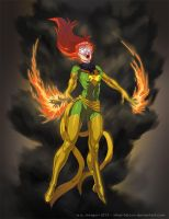 Jean Grey by Silver-Falcon