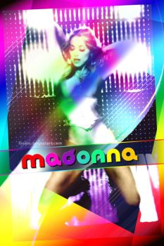 i love madonna by fosian