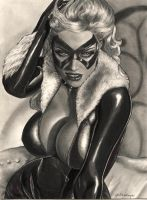the black cat felicia by aramismarron