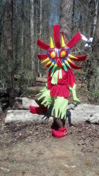 Finished Skull Kid Cosplay by Belle43