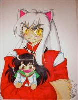 Comission - Inuyasha by Hikaroo