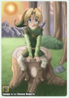 LOZ- Taking a breather by Linkmaster