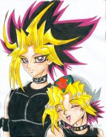 Good times with Yami and Yugi by alaer