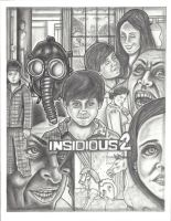 Insidious 2 Original Art by vinnyvandoodle