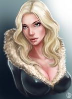 Blonde Bombshell by jaeon009