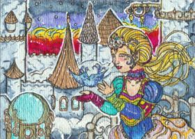 The Princess' Dream (ACEO) by Keyshe54