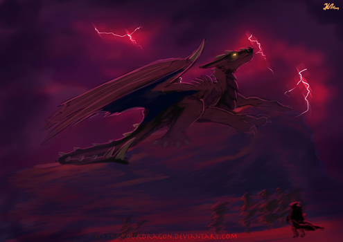 king of red mountail SP by ParkourDragon