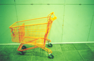 Icelandic orange trolley by insipida