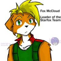 Fox McCloud Pic by MidNight-Vixen