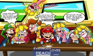 Everybody loves Peach...kinda by xeternalflamebryx