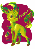 Leafeon by Chiyo-chi