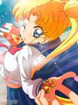 Fant art Sailor Moon - Usagi to the school by mitgard-knight